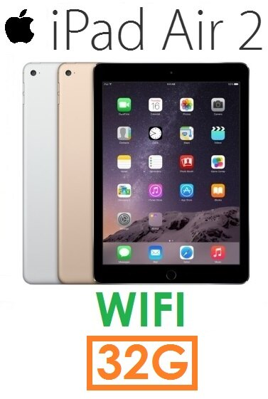 【現貨+預訂】蘋果 Apple iPad Air2 32G(WIFI 版)Air 2 平板(送皮套)