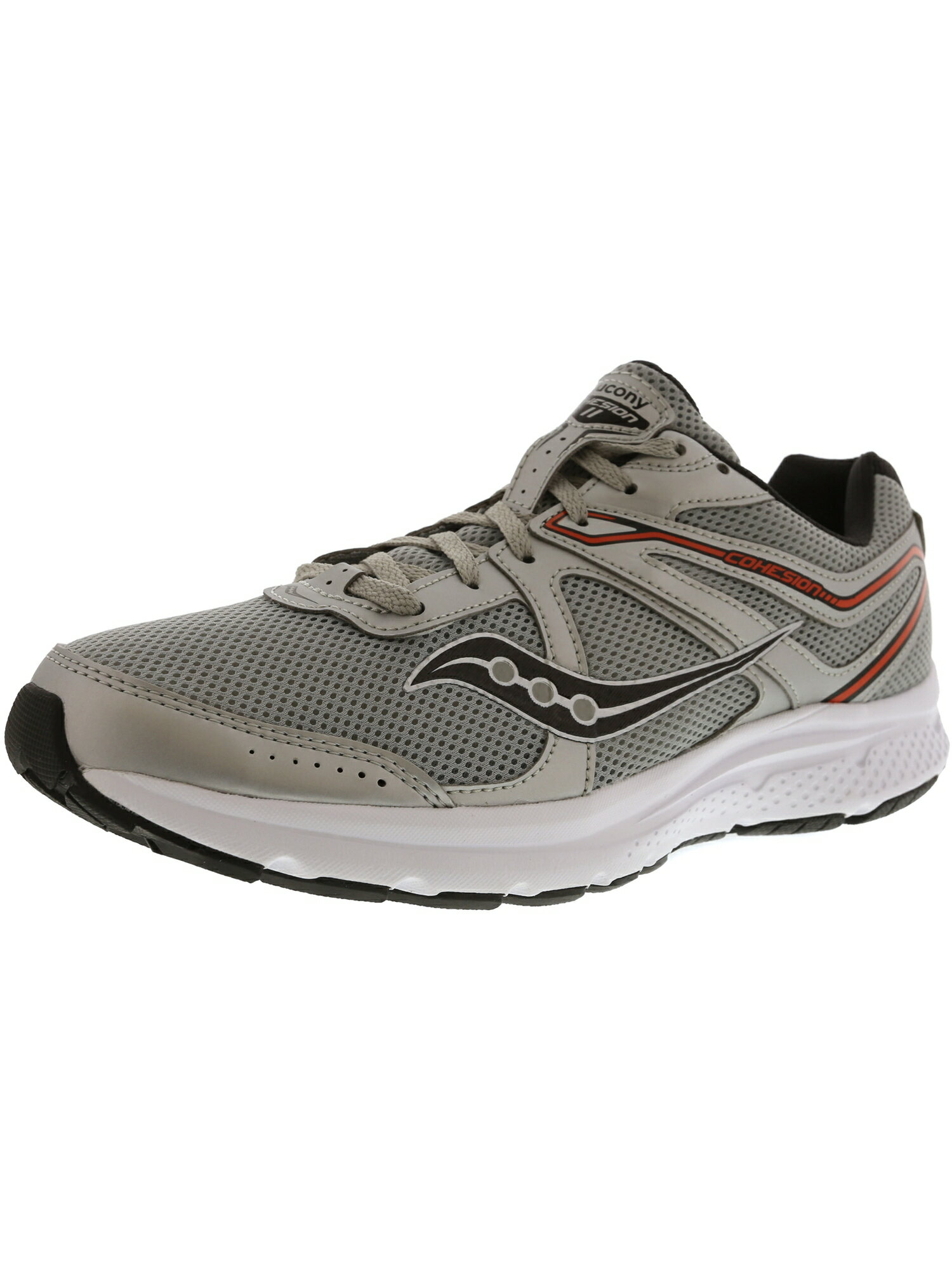deb1c1ae Saucony Men's Grid Cohesion 11 Ankle-High Mesh Running Shoe