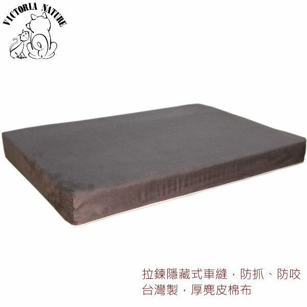 寵物睡墊 ?物床 ?物床墊-印象咖啡色麂皮台灣製