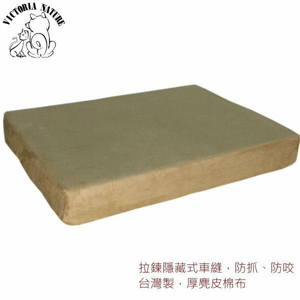 寵物睡墊 ?物床 ?物床墊-典雅咖啡色麂皮台灣製