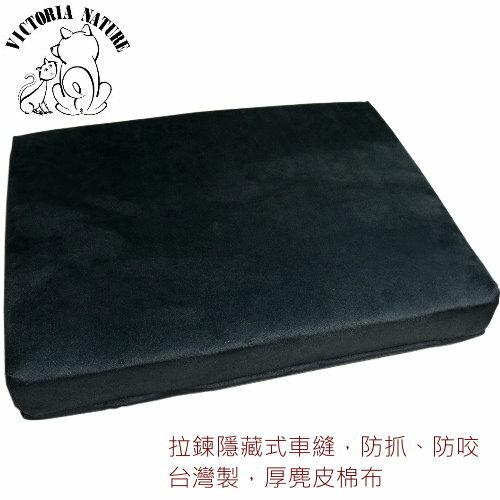 寵物睡墊 ?物床 ?物床墊-紳士藍色麂皮台灣製