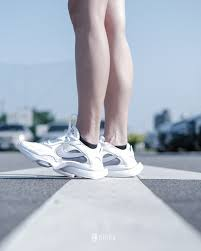 KUMO SHOES-NIKE AIR ZOOM DIVISON 米白 白粉 休閒慢跑鞋 女 增高 CK2950-100