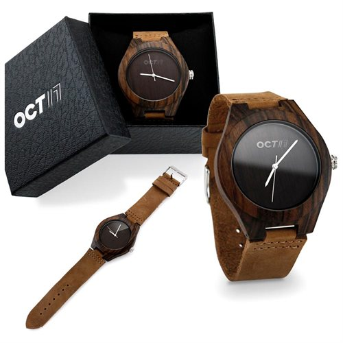 Oct17 Luxury Men's Wood Fashion Bamboo Wooden Watch