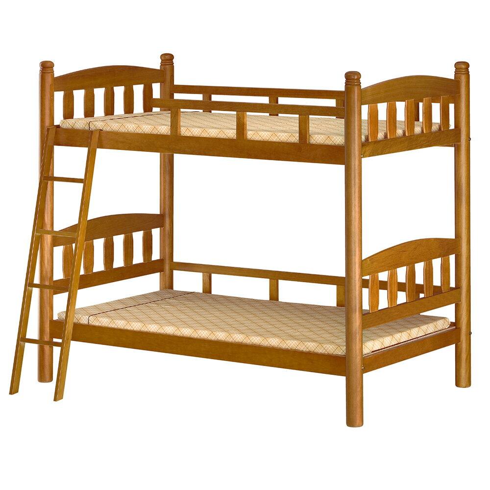 【全館現貨 下殺45折起】雀雁柚色實木3.5尺高腳雙層床(不含床墊)專人組裝 兒童床 宿舍公寓 上下舖 台灣製 原森道