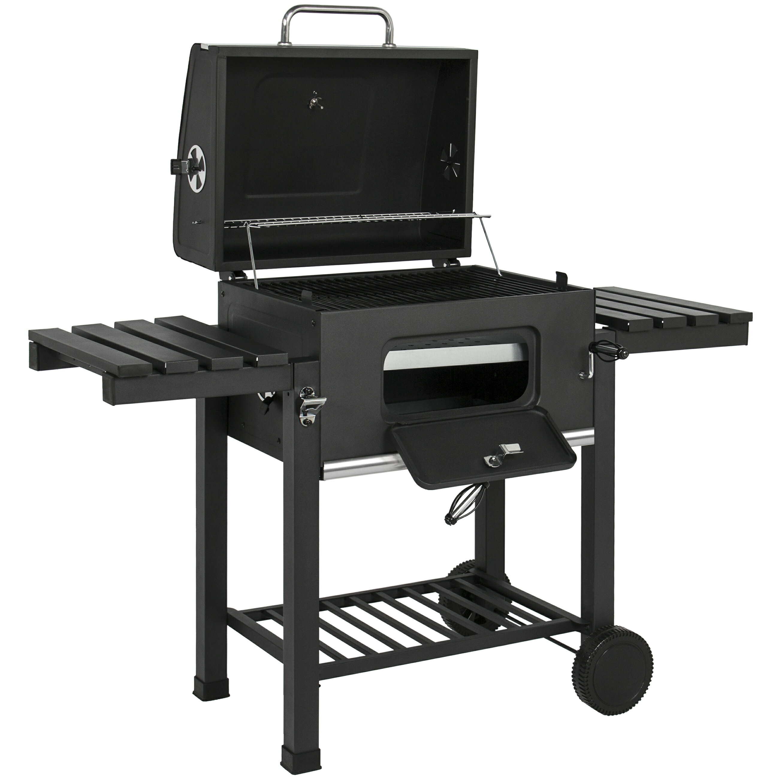 Backyard Charcoal Grill bestchoiceproducts: best choice products outdoor backyard premium