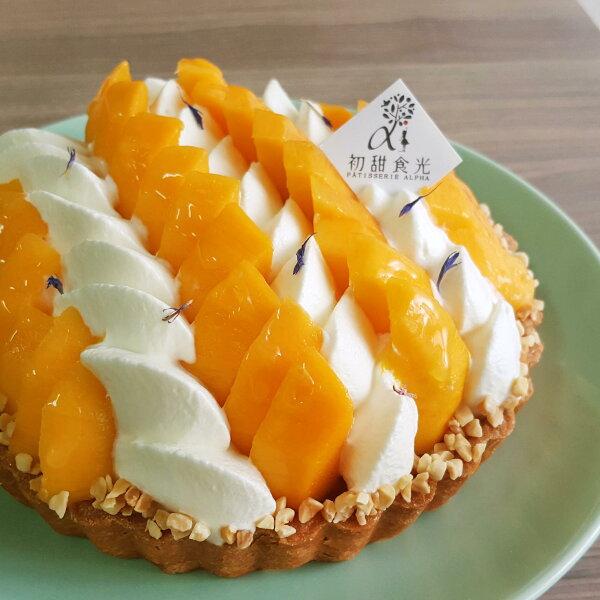 季節限定◆初甜食光◆芒果莓莓塔6吋約6人份限自取