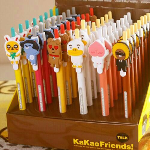 【99免運】造型筆韓國Kakaofriends造型中性筆組合