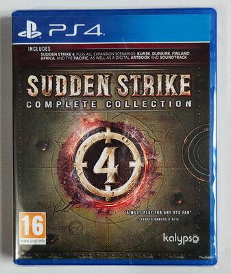 美琪PS4遊戲 突襲4 裝甲騎兵4 完全版終極版 Sudden Strike 4 中文英文