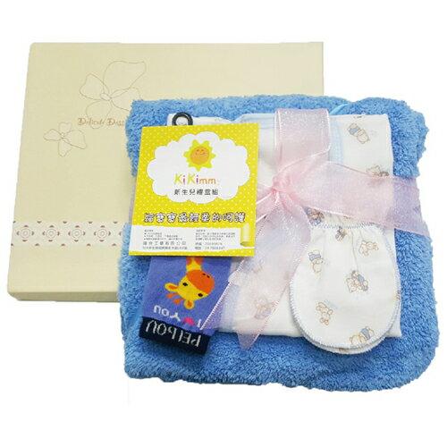德芳保健藥妝:Kikimmy新生兒彌月禮盒四件組(大)T3926【德芳保健藥妝】
