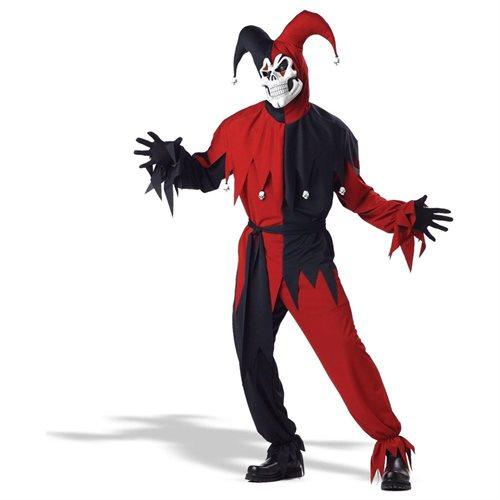 Wicked Jester Halloween Costume: Men's Size 42-44 0