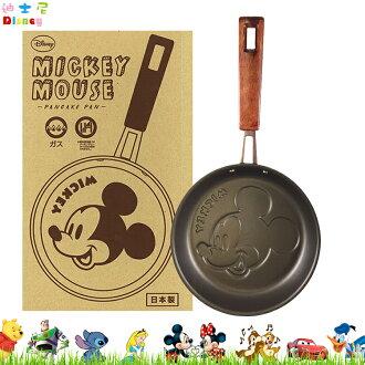 日本製 迪士尼 米奇 Mickey 鬆餅鍋 烤盤 平底鍋 鍋子 廚房用品 烘培料理鍋 日本進口正版 500754