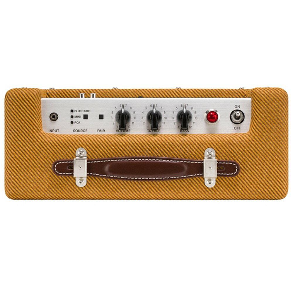 Fender Monterey TWEED 無線藍牙喇叭  黃色斜紋  MusicShop