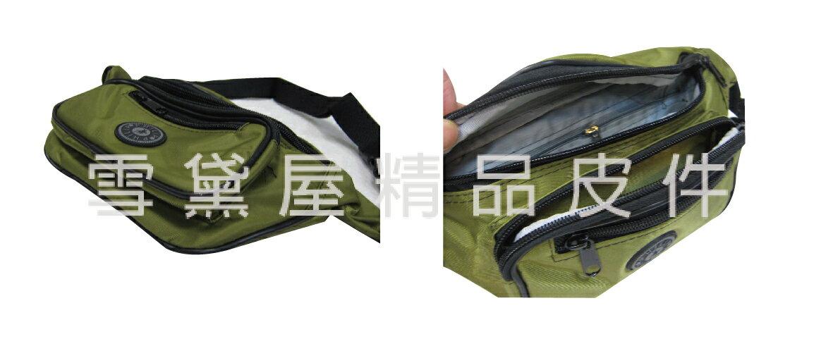限時 滿3千賺10%點數↘   ~雪黛屋~PHILIP 腰包小容量台灣製造隨身物品包運動休閒隨身包防水尼龍布材質防竊盜必備款輕便型全齡男女適用#9481