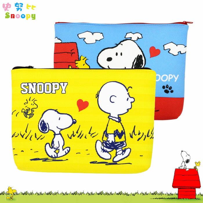 SNOOPY 史努比 史奴比 平板電腦包 收納包 文具包 收納袋 公事包 日本進口正版 491064