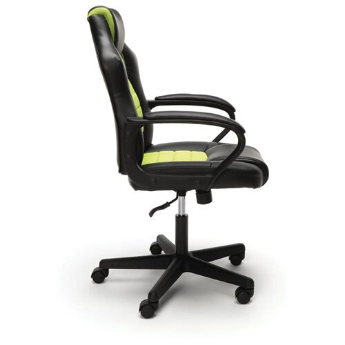 Essentials by OFM Racing Style Gaming Chair, Green 2