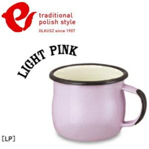 Emalia Olkusz 波蘭百年琺瑯杯/牛奶杯/琺瑯馬克杯250ml TPS 粉紅 LP