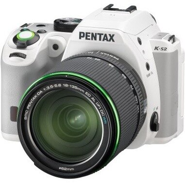 Pentax K-S2 DSLR Camera with 18-135mm Lens (White) 2