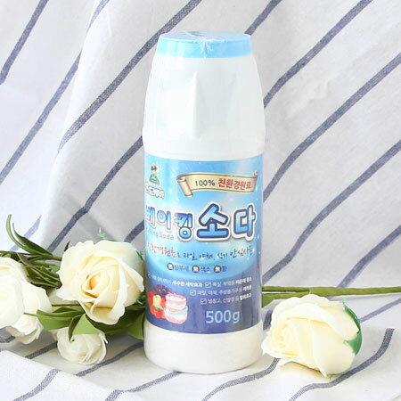 韓國 小鬼怪 魔法萬用蘇打清潔粉 罐裝  500g 清潔粉 廚房用品 洗衣粉 洗碗 蘇打粉