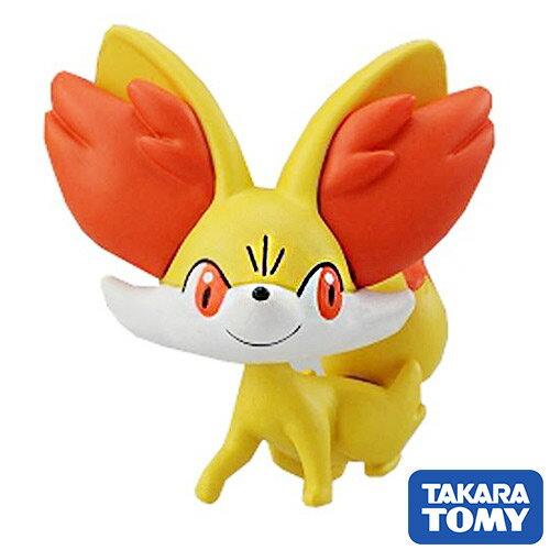 【日本進口】火狐狸 Fennekin 寶可夢 造型公仔 MONCOLLE-EX 神奇寶貝 TAKARA TOMY - 968580