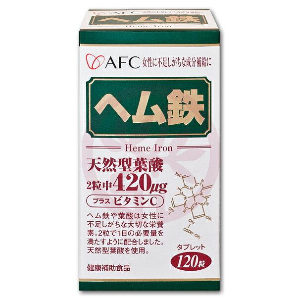 AFC宇勝淺山 菁鑽鐵S錠狀食品(含葉酸)(120粒/罐)