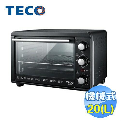 東元 TECO 20公升機械式電烤箱 YB2002CB