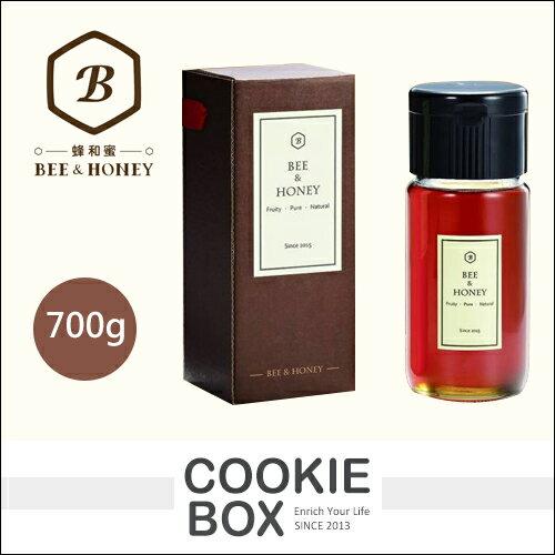 蜂和蜜夏緻龍眼蜜700g蜂蜜天然純蜜*餅乾盒子*