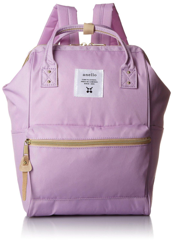【真愛日本】16071100004anello潮流後背包S-馬卡龍紫LV   ANELLO 後背包 背包 書包 包包 提包