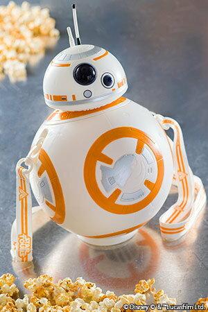 【真愛日本】16091200018   樂園限定造型爆米花筒-BB8     迪士尼 星際大戰 Star Wars  爆米花桶  收納桶  限量 預購