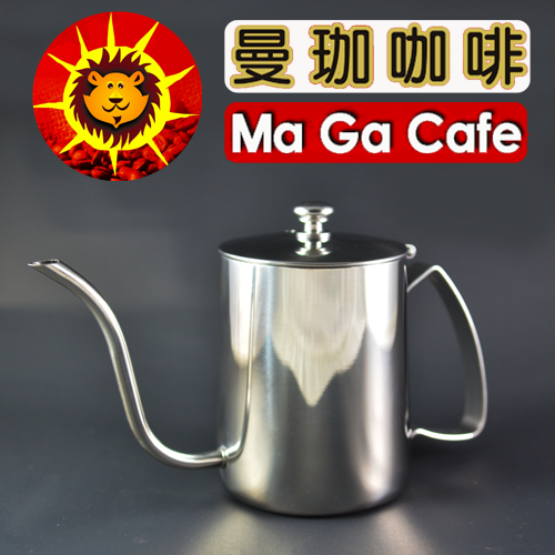 【曼珈咖啡】日本寶馬 (有蓋)耳掛細口手沖壺 600ml
