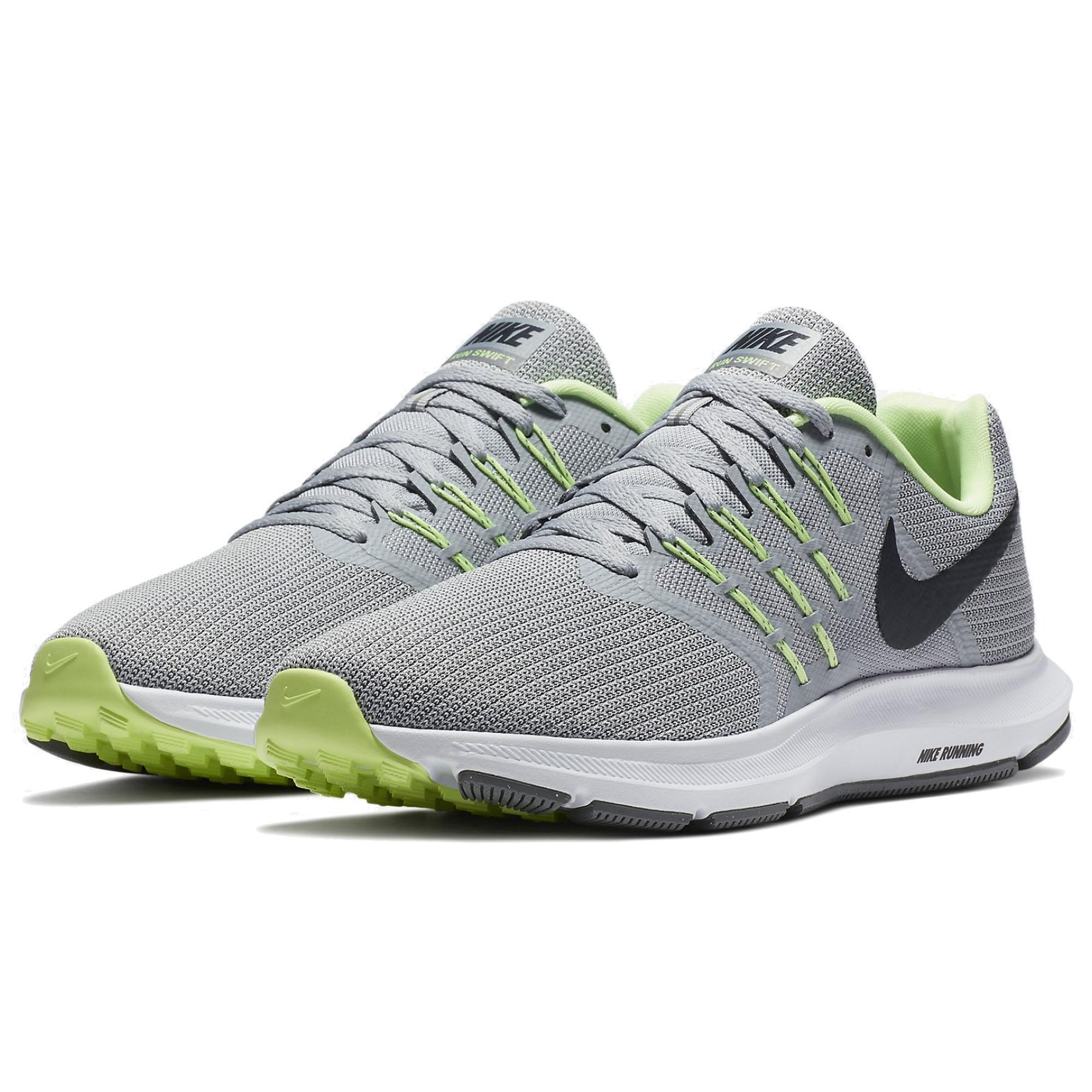 Nike Run Swift 男鞋 慢跑 訓練 健身 避震 輕量 透氣 灰 白 【運動世界】 908989-008