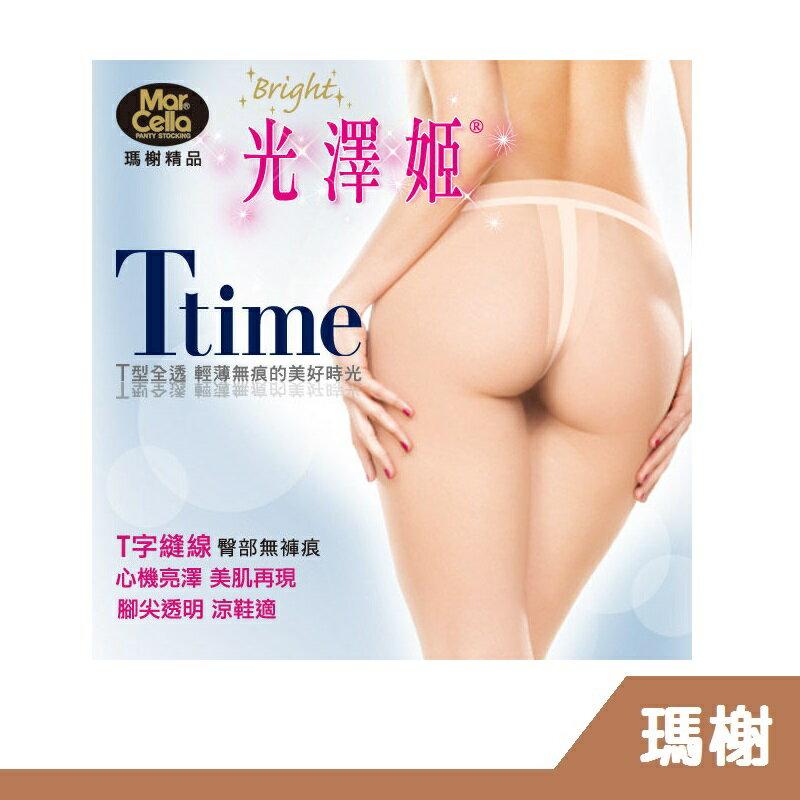 RH shop 瑪榭 光澤姬T time‧T型全透明亮澤絲襪/褲襪 MA-11901