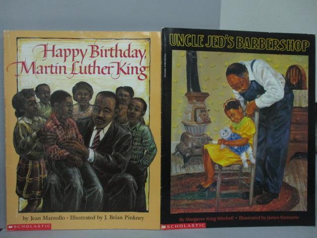 ~書寶 書T9/少年童書_PQF~Happy Birthday Martin Luther