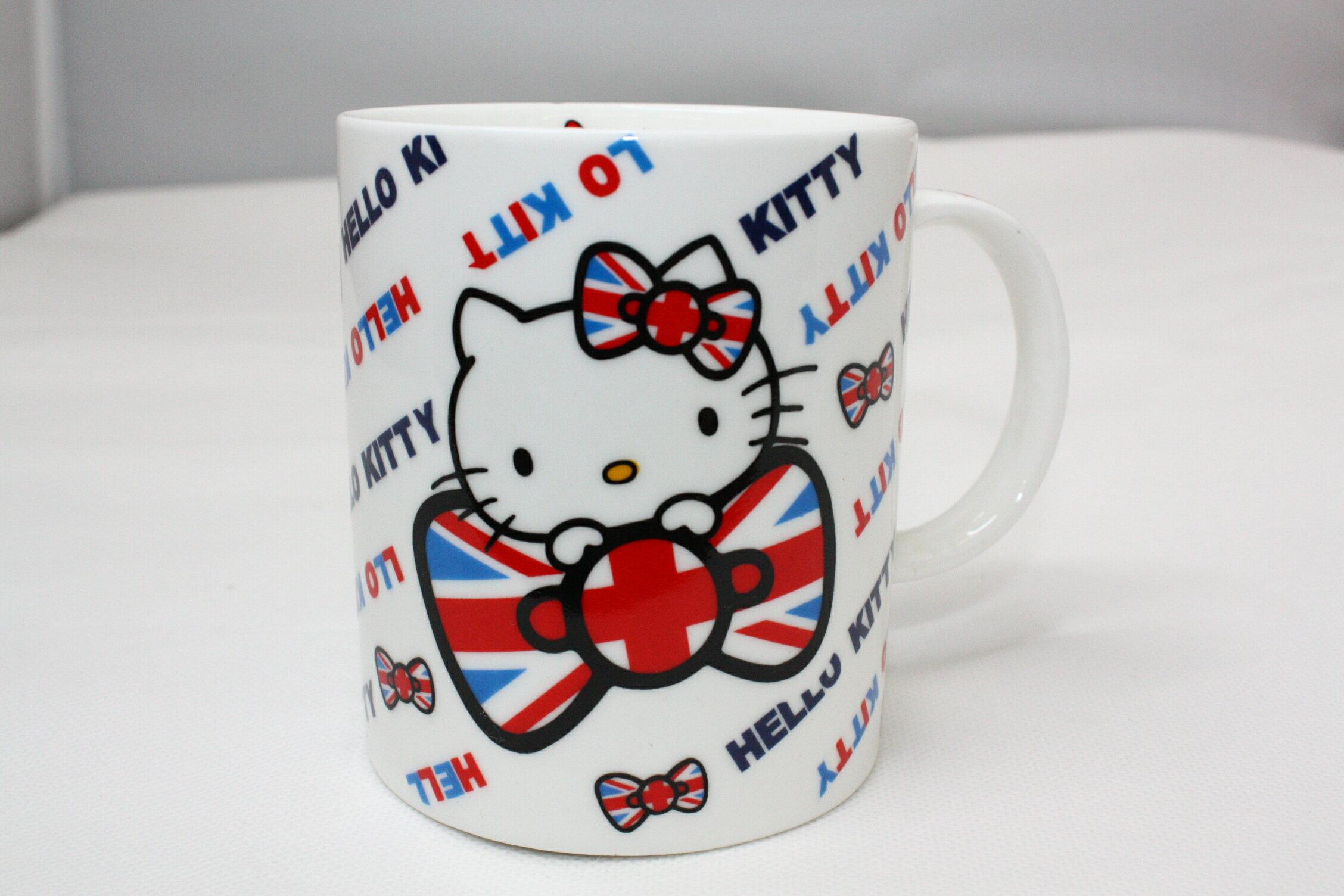 大賀屋 Hello kitty 英國 奧運 陶瓷 馬克杯 陶瓷杯 杯子 對杯 凱蒂貓 KT
