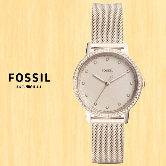 FOSSIL美國品牌NEELY華麗雅緻時尚腕錶ES4364公司貨禮物