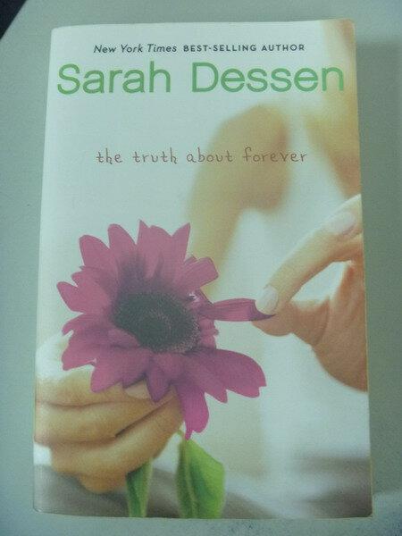 【書寶二手書T8/原文小說_IAR】Truth About Forever_Sarah Dessen, Sarah De