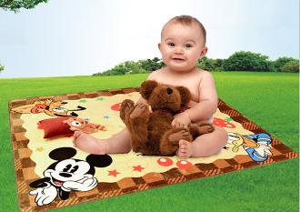 迪斯尼地毯兒童爬行墊卡通遊戲地墊