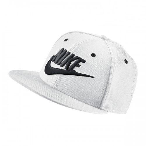 Nike FUTURA TRUE 2 帽子 棒球 電繡 可調式 後扣 白 黑【運動世界】584169-100