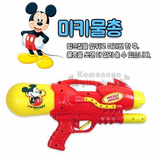〔小禮堂韓國館〕迪士尼 米奇 水槍玩具《紅黃.側站》