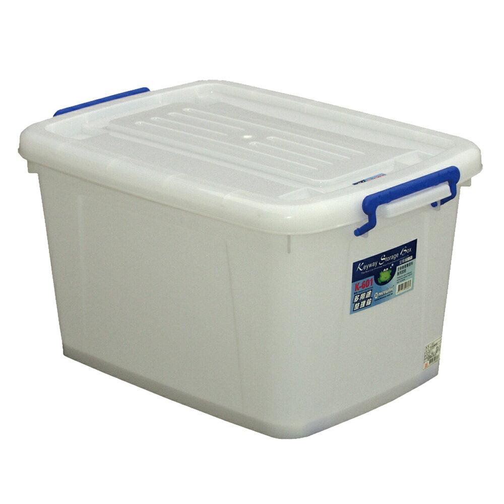 KEYWAY 多用途整理箱/K601/透明白/6個/組SUPER SALE 樂天雙12購物節