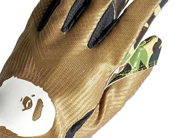 2019 限量發售 SUPER BOWL 第五十三屆超級盃 A BATHING APE x adidas ADIZERO 8.0 BAPE CAMO 美式足球 手套 鯊魚迷彩 猿人頭 (CL4729) ! 2