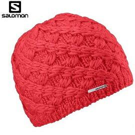 [ Salomon ] Diamond II Beanie帽 紅 / 編織帽 / 公司貨 353374