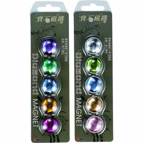 《☆享亮商城☆》Q00440-BK 寶石磁鐵20mm(混色/黑)