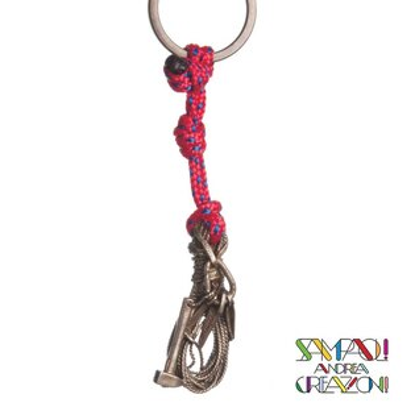 【SAC義大利】青銅掛飾吊飾-繩+岩錘+岩釘義大利傳統飾品工藝SAC14