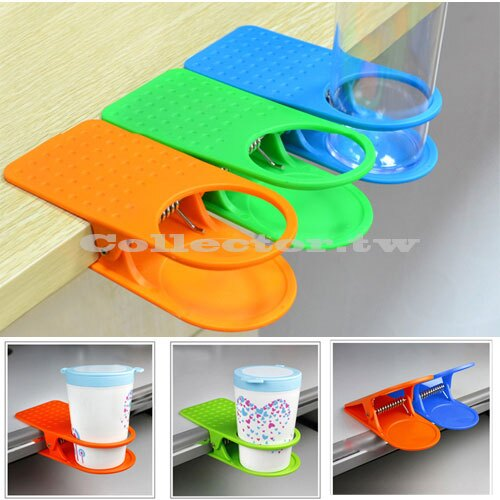 【F14073001】韓國創意桌邊水杯夾 大夾子桌邊夾 杯托 廚房餐桌用品