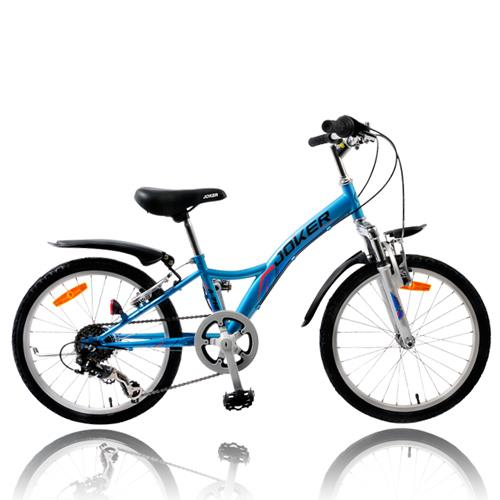 【7號公園自行車】JOKER 傑克牌 A-218 20吋6速炫童車 藍