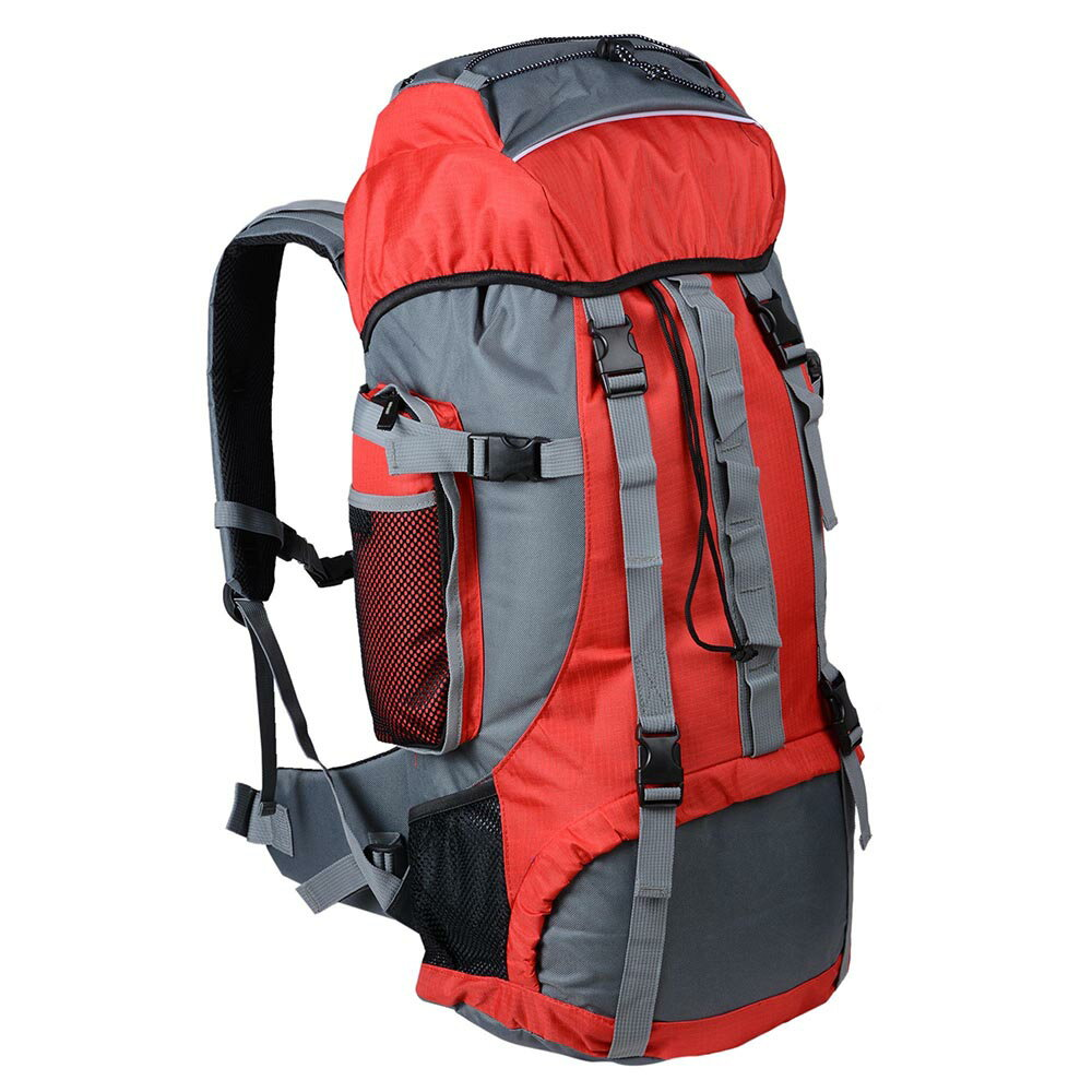 224ae09d45 70L Sports Hiking Camping Backpack Travel Mountaineering Shoulder Bag  Rucksack Red Black Blue Opt