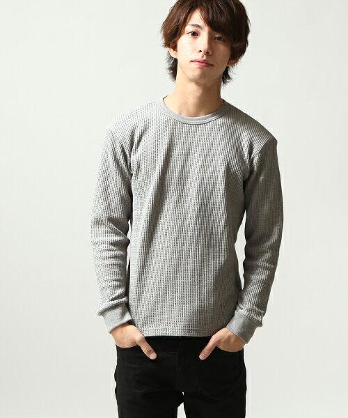 長袖T恤 GRAY
