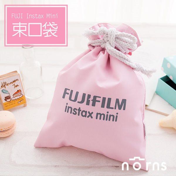NORNS 【粉紅色Fujifilm束口袋】富士Mini 7S 8 25 50s 90 拍立得相機保護袋相機包束口袋