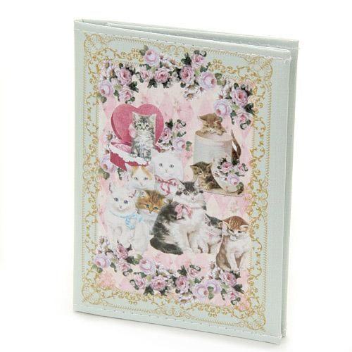 日本製貴族貓咪卡片套考套tiffany藍984038