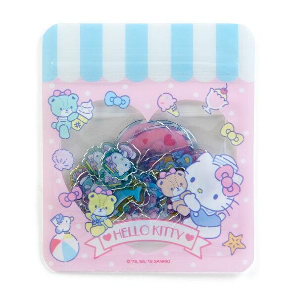 【真愛日本】18042500027造型貼紙-KT小熊ACK三麗鷗凱蒂貓kitty貼紙裝飾小貼紙